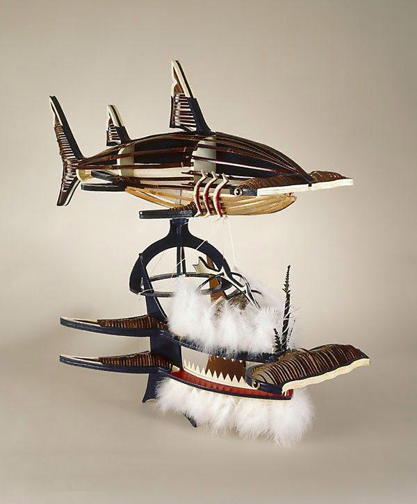 Beizam Shark Dance Mask 1996 By Ken Thaiday The