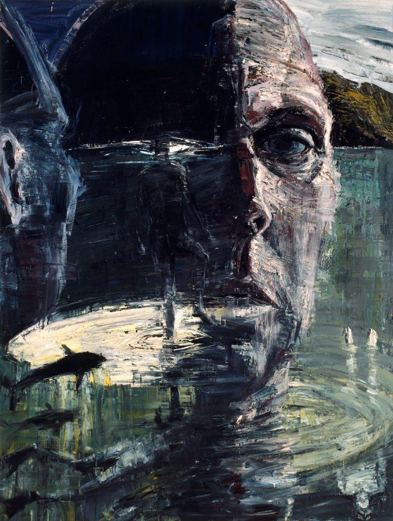 Euan Macleod Self Portrait Head Like A Hole Archibald