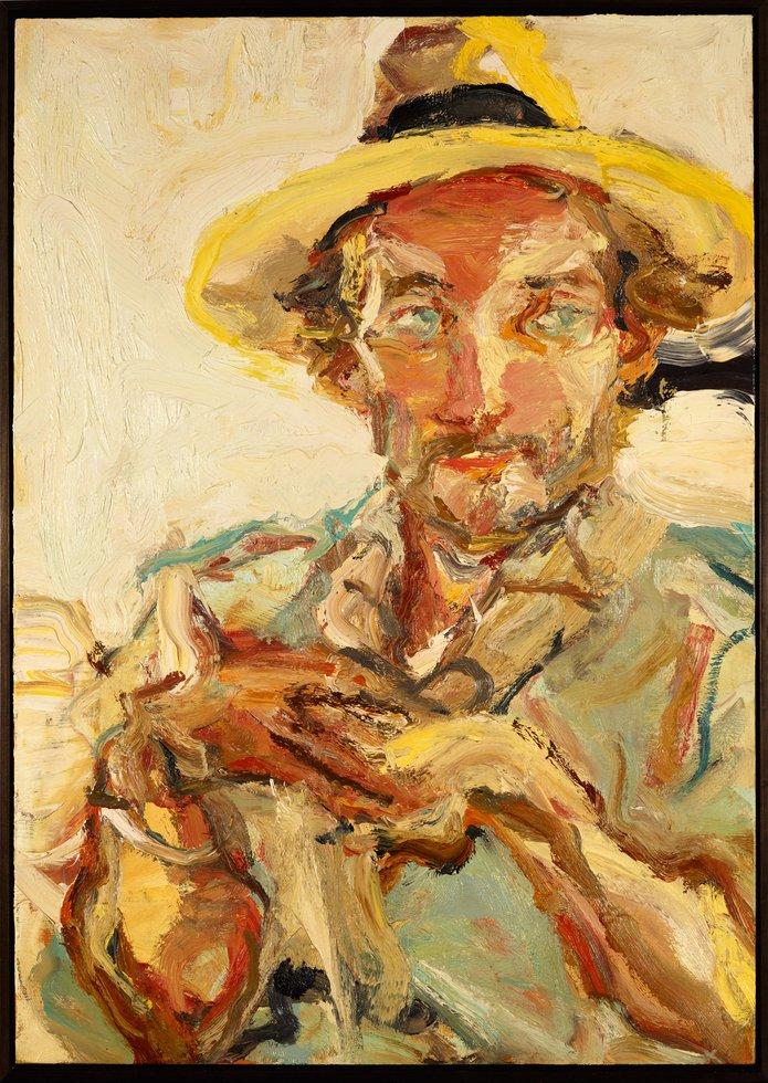 Robert Malherbe: The squire - portrait of Luke Sciberras