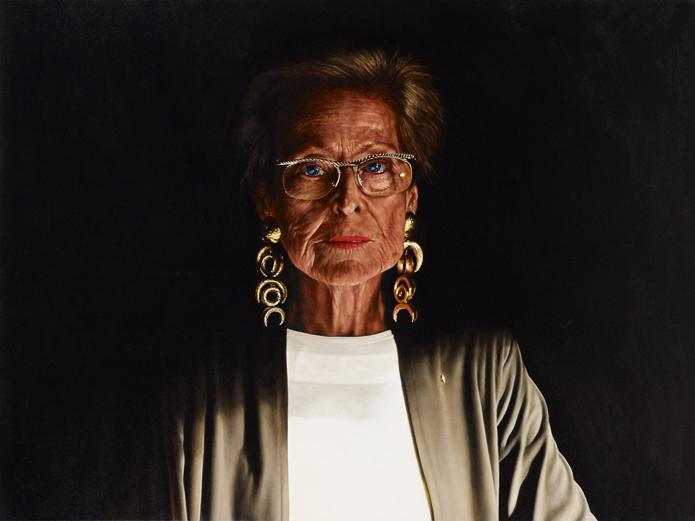 Angus Mcdonald Dr Ann Lewis Ao Archibald Prize 2011