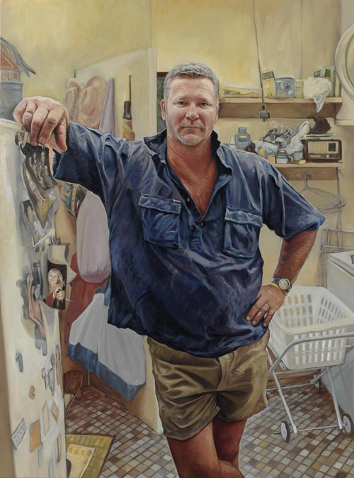 Michael Mucci A Working Class Man Archibald Prize 2006