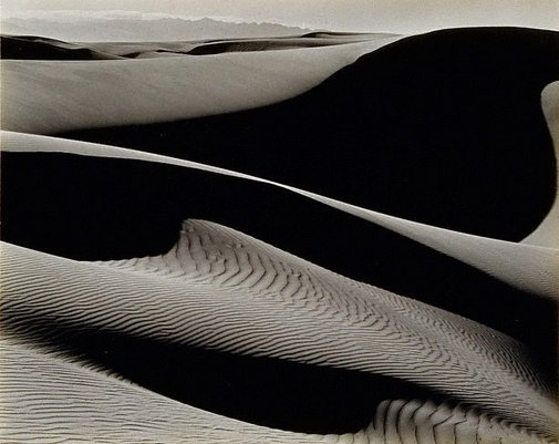 An image of Dunes, Oceano by Edward Weston