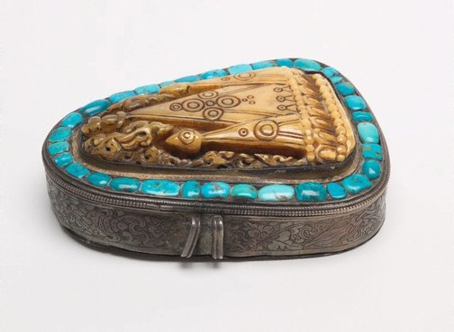 An image of Amulet box ('gau') by